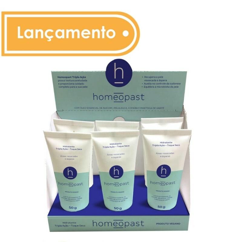 homeopast - TRIPLA AÇÃO - TOQUE SECO - Caixa com 6