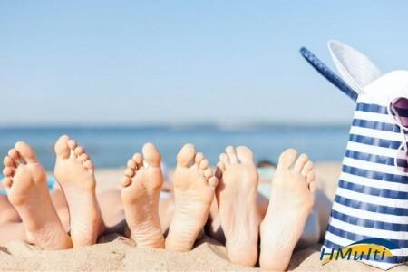 5 dicas de como cuidar dos pés durante o verão