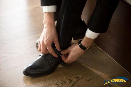 Cuidados com os pés durante o trabalho