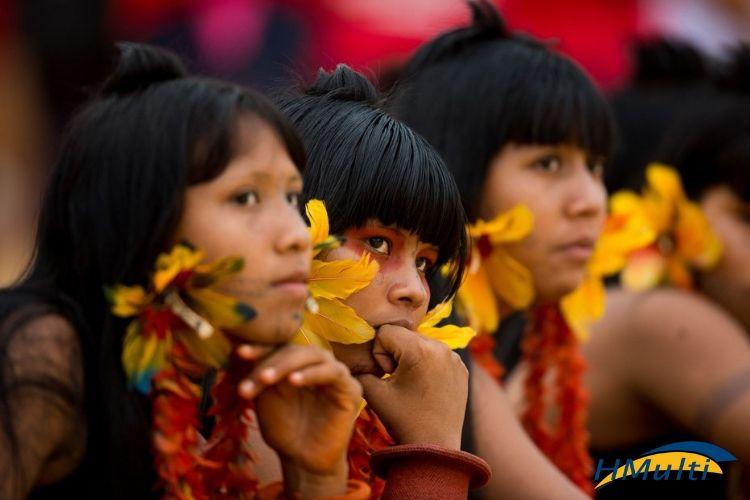 Os índios e o cuidado com os pés, com a higiene e com a saúde
