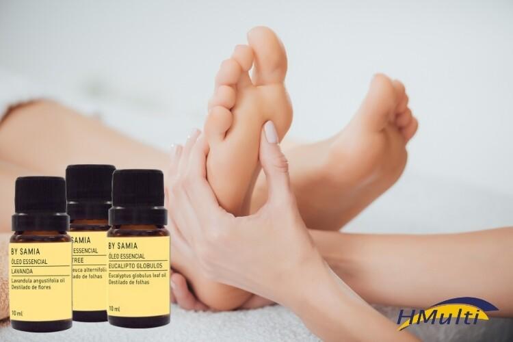 Reflexologia com óleos essenciais