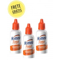 HomeoFree Trio - 3 Frascos de 30ml