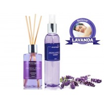 Kit Aromagia II - Stick e Spray Lavanda
