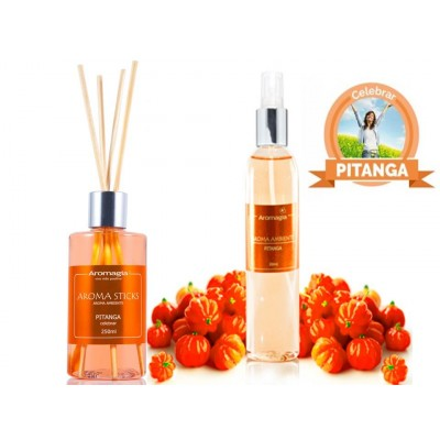Kit Aroma Stick e Spray Pitanga