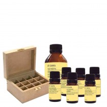 Kit essencial de aromaterapia