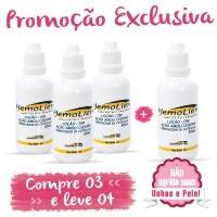 Hemolien - Amolecedor de Cutícula - 30ml Compre 3 e Leve 4